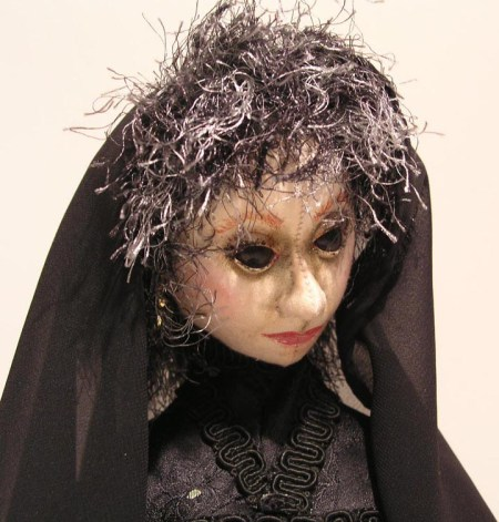 soft sculpted doll